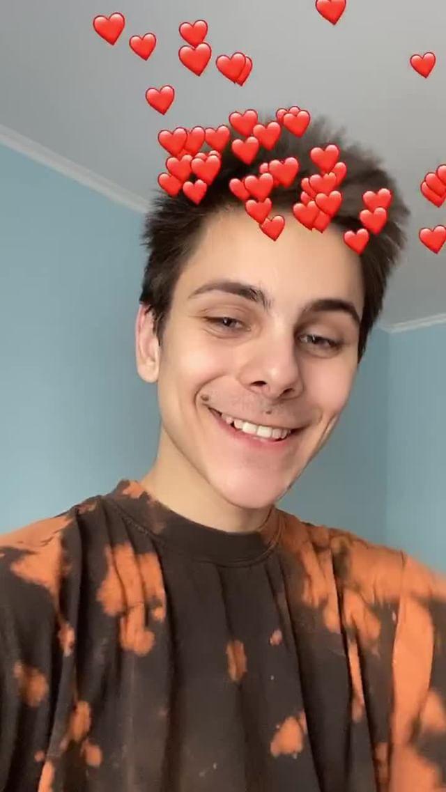 Instagram filter fall in love