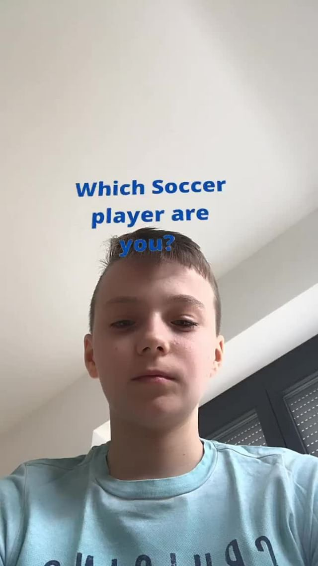 smoritz127 Instagram filter Which Soccer Player?