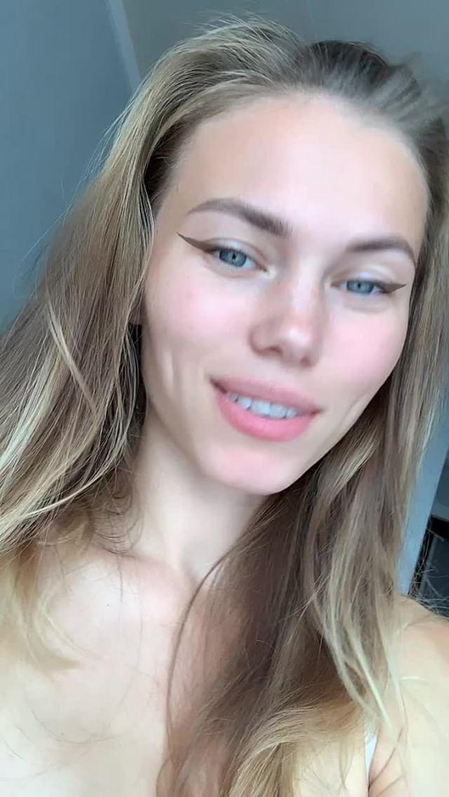Instagram filter eyeliner