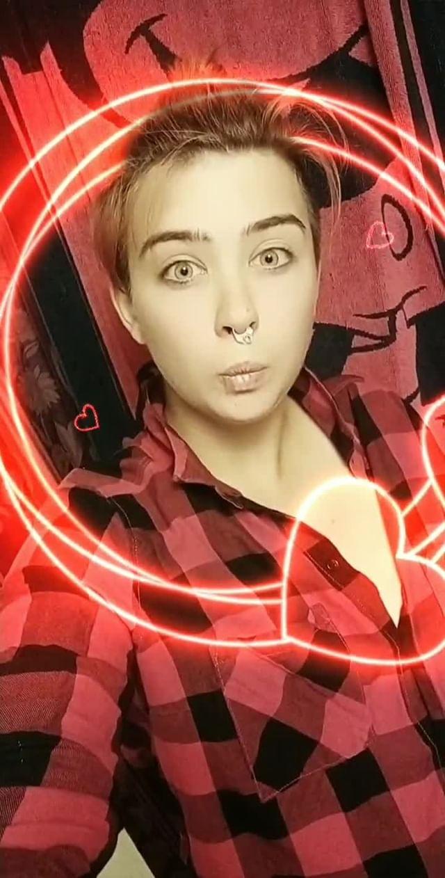 Instagram filter Valentine's Frame