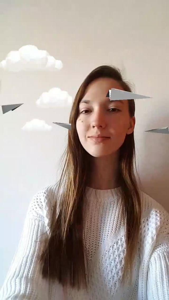 Instagram filter PaperPlanes