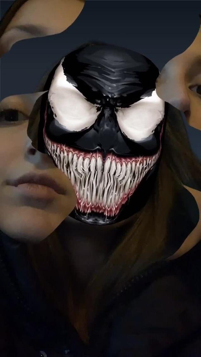 Instagram filter Venom