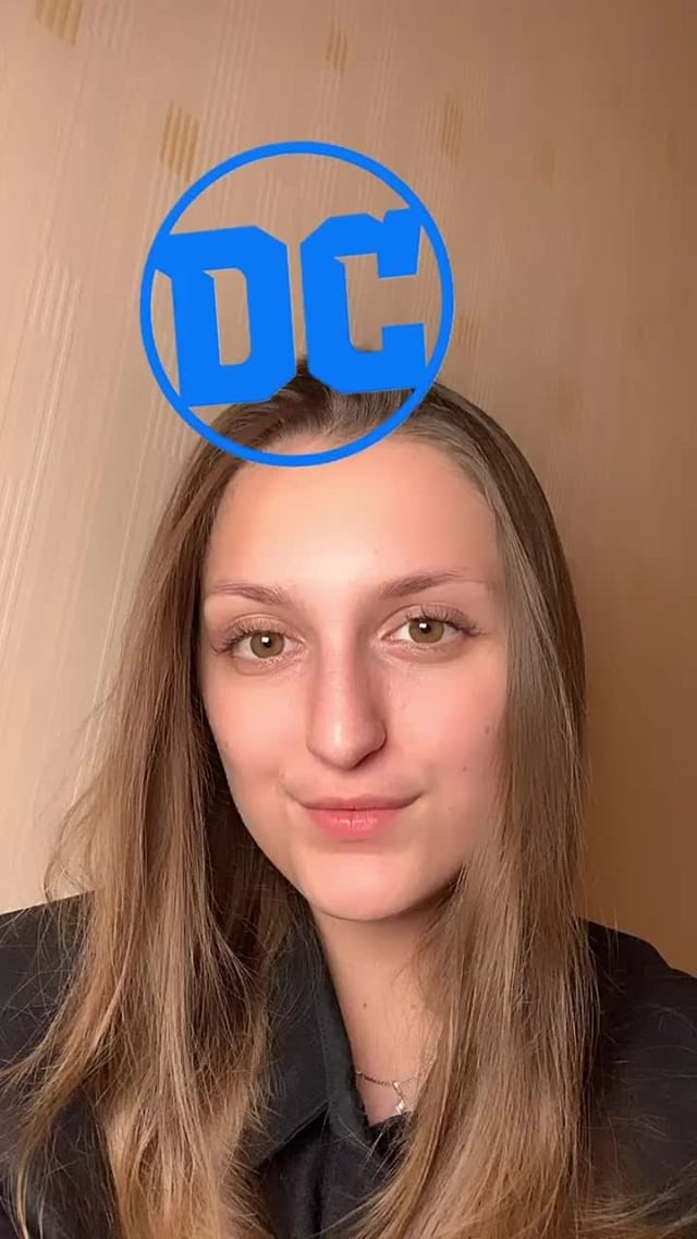 Instagram filter DC Character