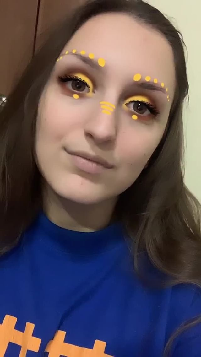 Instagram filter Yellow MakeUp