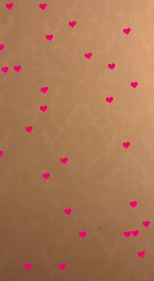 Instagram filter pink heart shine