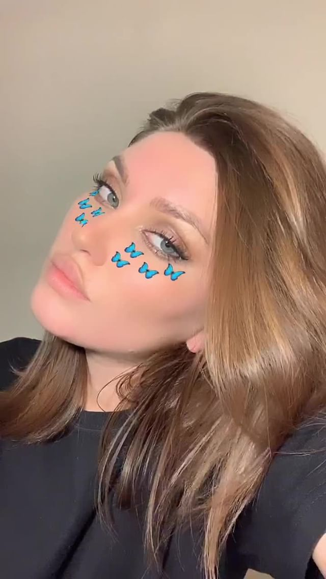Instagram filter butterflies