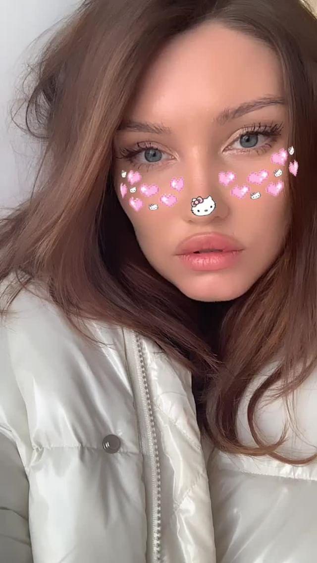 Instagram filter meow