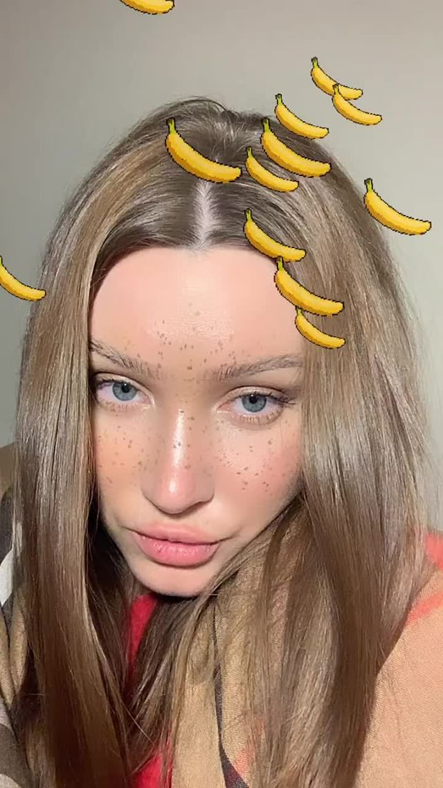 Instagram filter bananas