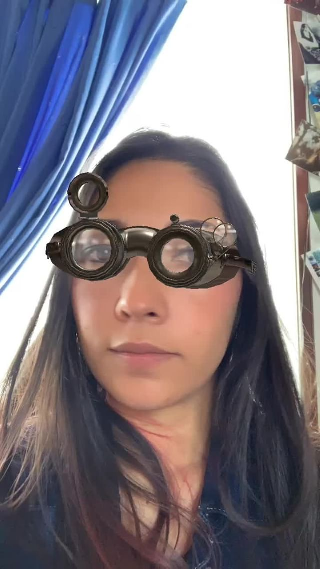 Instagram filter Steampunk Glasses