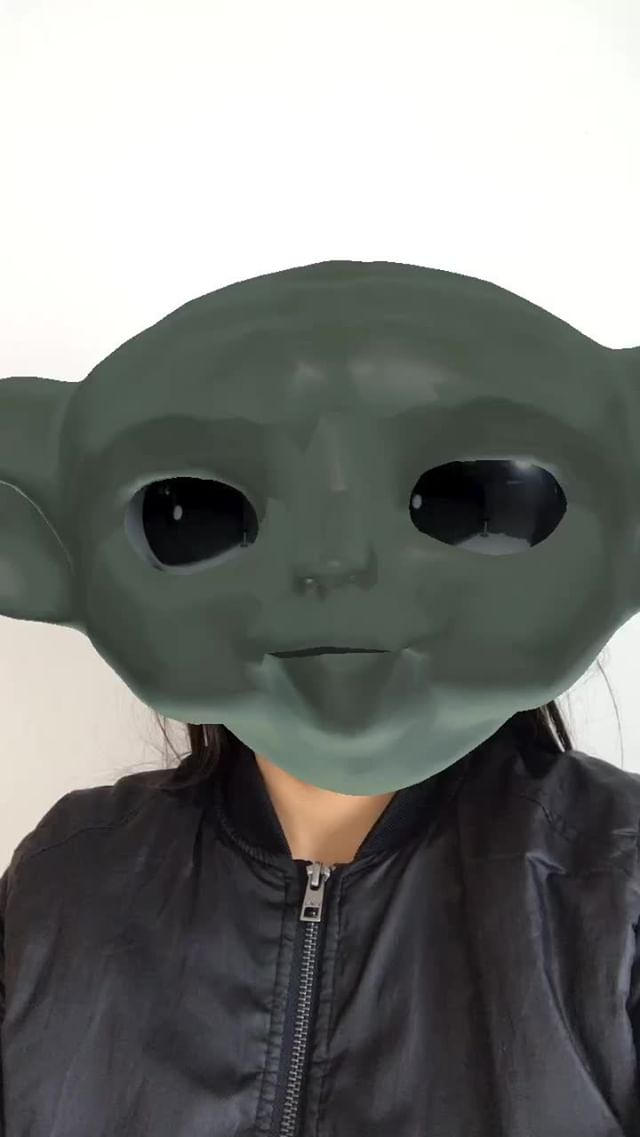 Instagram filter Yoda