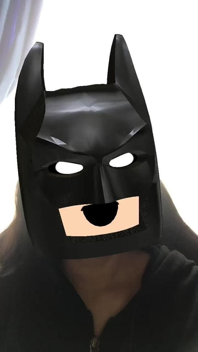 Instagram filter Bat emoji