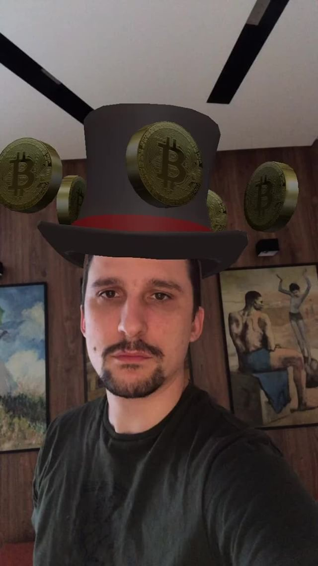 shmandrovski Instagram filter Bitcoin_Hat