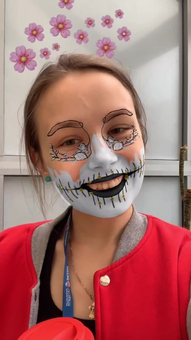 Instagram filter Flower Masquerade