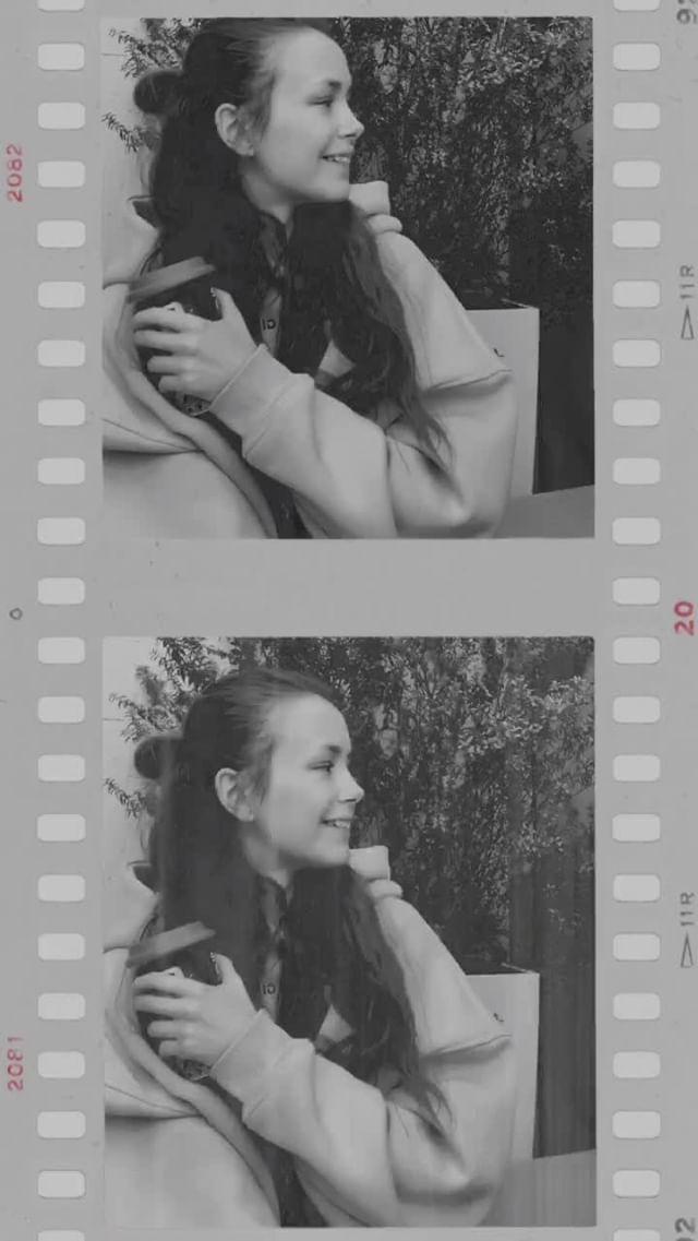Instagram filter Cinema B&W
