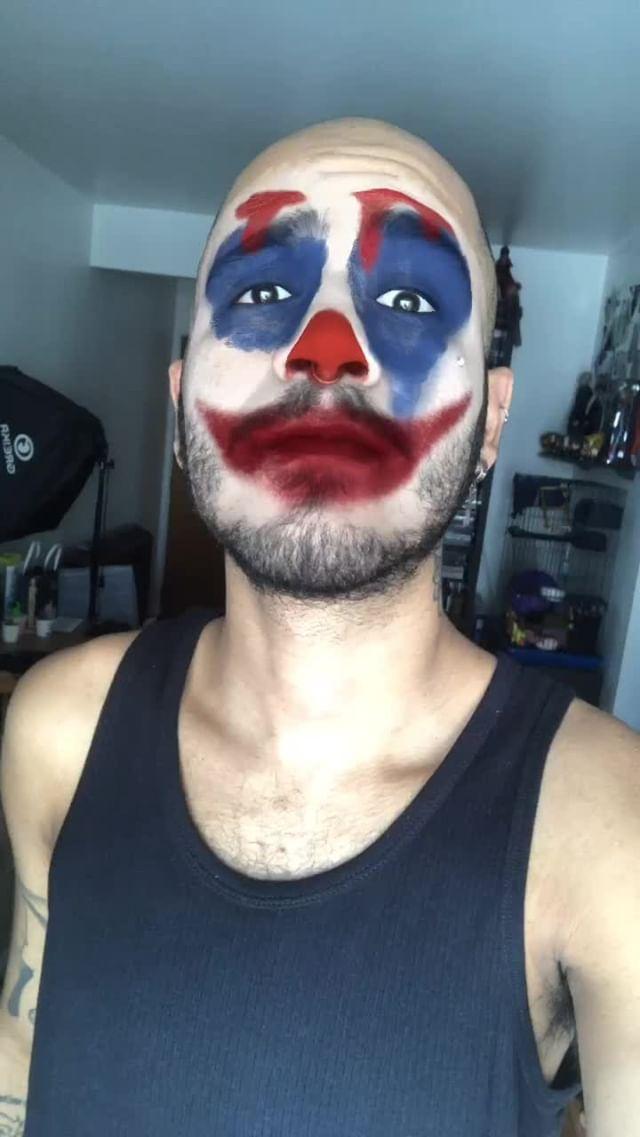 Instagram filter J0K3R Makeup
