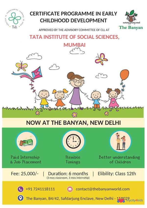 Certification In Early Childhood Education Weekday Batch In