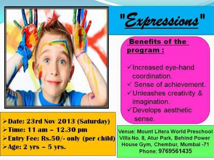 Expressions Chembur Mount Litera World Preschool In Chembur