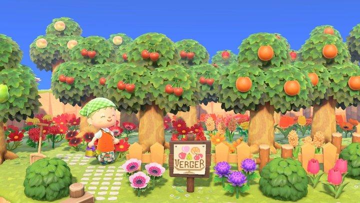 果樹園 あつ森 【あつ森】果樹園の作り方とレイアウト一覧丨看板のマイデザイン【あつまれどうぶつの森】
