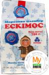 Морозиво вагове Ескімос  Рудь 750г