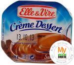 Десерт кофейный Эль Вир со сливками 125г пластиковый стакан Франция