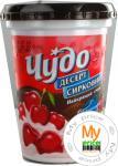 Десерт творожный Чудо вишня с шоколадной глазурью 4% 300г Украина