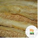 Печенье Мальвина кунжут 250г в упаковке Украина