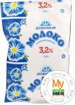 Молоко Добрыня стерилизованное 3.2% 900г пленка Украина