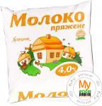 Молоко Хуторок топленое 4% пленка 500г Украина