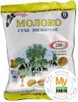 Молоко Молочний світ сухое обезжиренное 250г пленка Украина