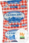 Молоко Селянское ультрапастеризованное 3.2% 450г тетрапакет Украина