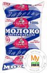 Молоко Заречье пастеризованное 2.6% 1000г пленка Украина