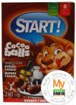 Сухі сніданки Start Кульки з какао, 250г