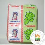 Творог Славяночка кисломолочный с изюмом 10% 230г Украина
