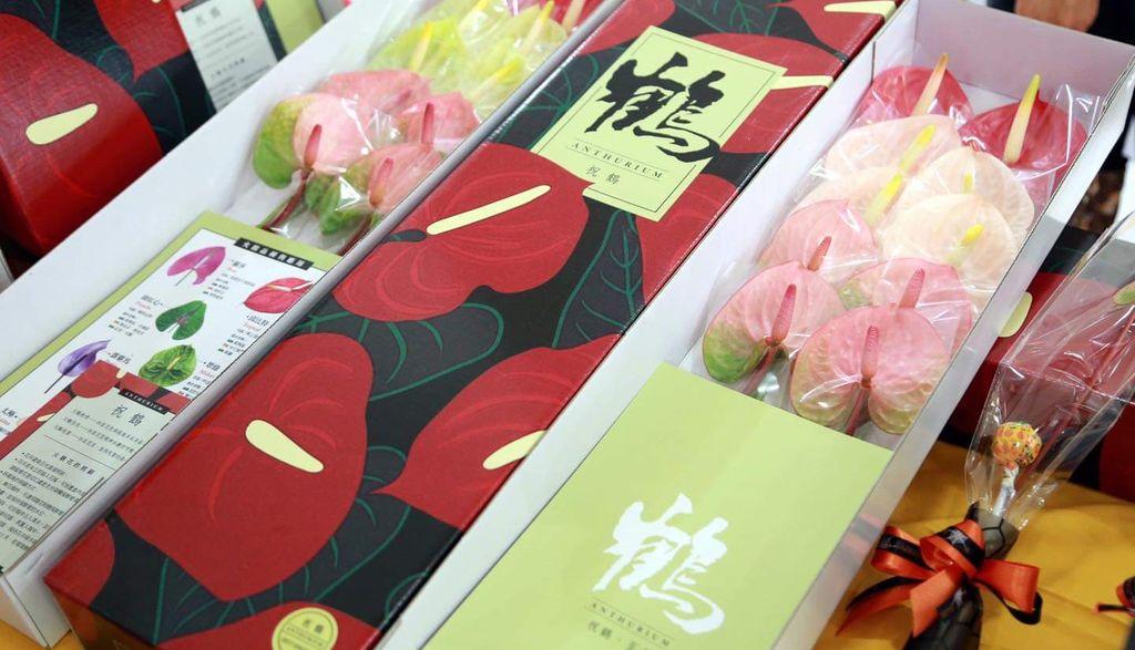 六甲百芳農場|火鶴花·祝賀禮盒·花束|