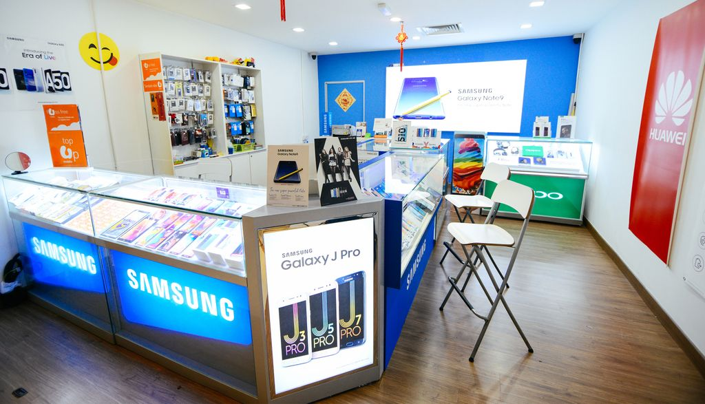 Samsung Shop by Enhance Communication