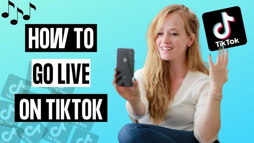 How to go live on TikTok?