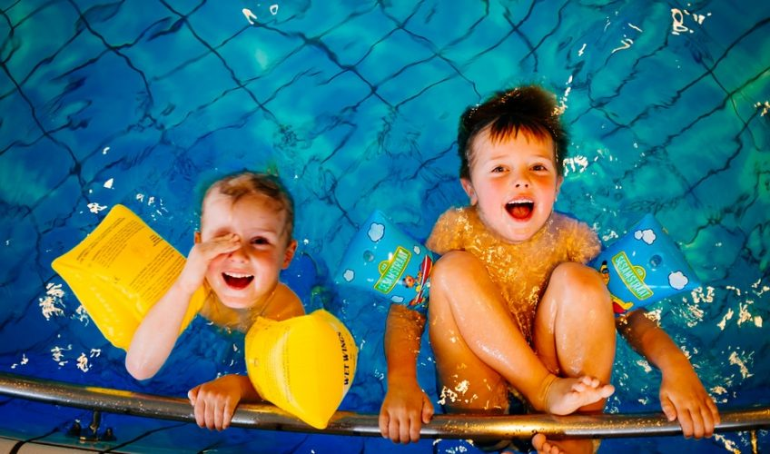 Family Swim Sessions and Splashpad at Leisure At