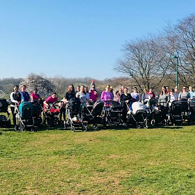 Buggy Workout at Longford Park