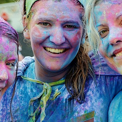 Warwickshire Colour Fun Run 2021