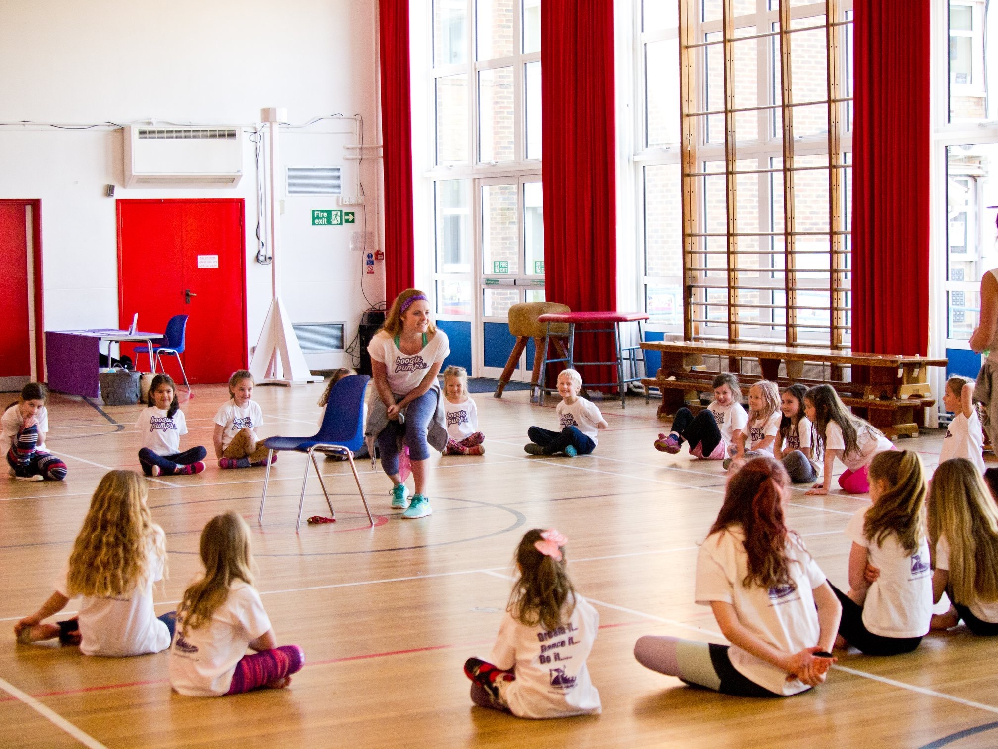 Boogie Pumps - October Half Term Camp