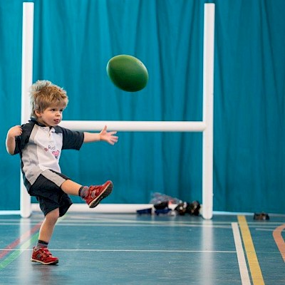 Rugbytots at Wynstones School