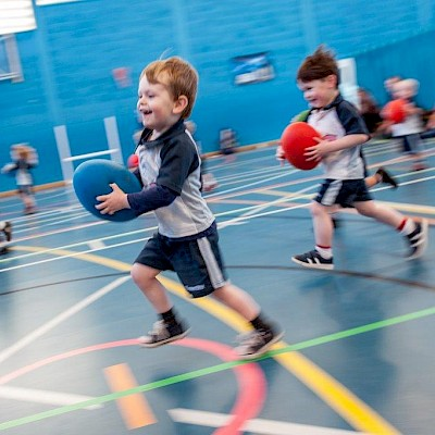 Rugbytots at Churchdown Community Hub