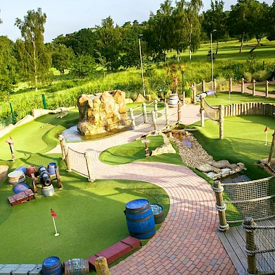 Mr Mulligan's Pirate Golf Woking