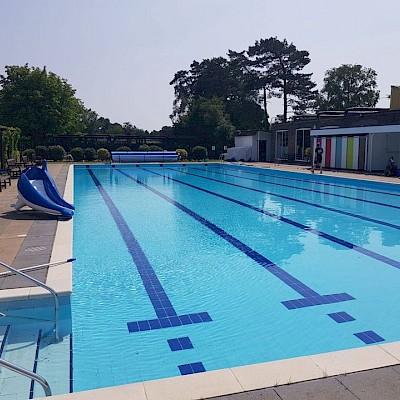 Jubilee Park Outdoor Swimming Pool