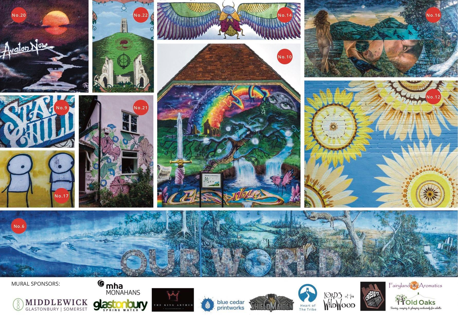 The Glastonbury Mural Trail