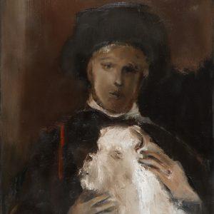 Kostas Kampouropoulos - Boy With A Female Molossus Dog