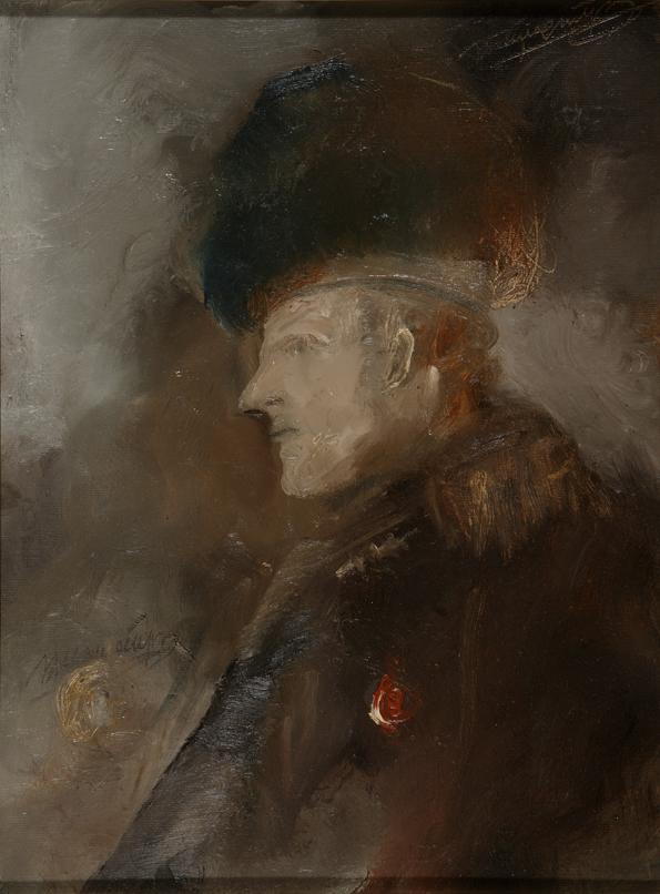 Kostas Kampouropoulos - Scottish Cavalry Officer
