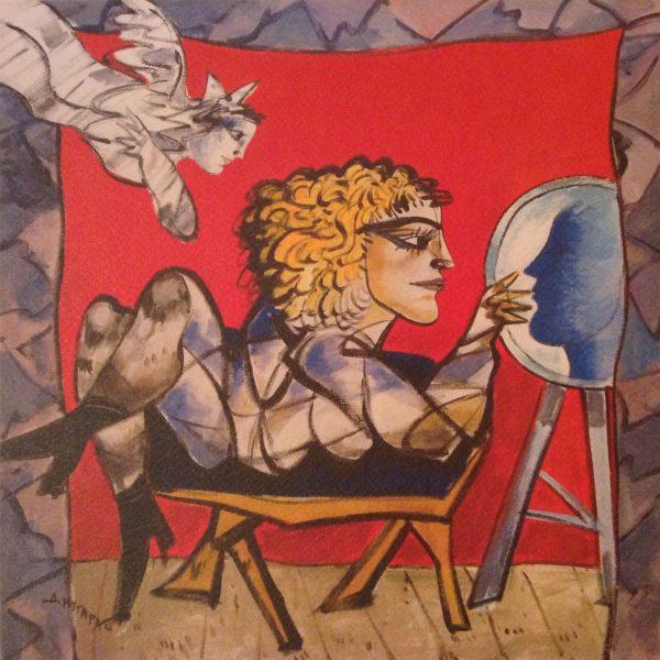Dimitris Mytaras - Blonde Female Figure