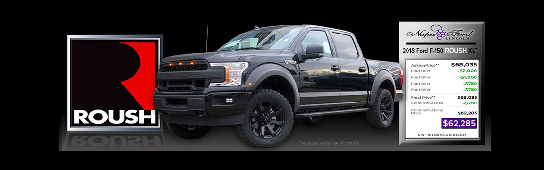 Roush Truck Re-priced