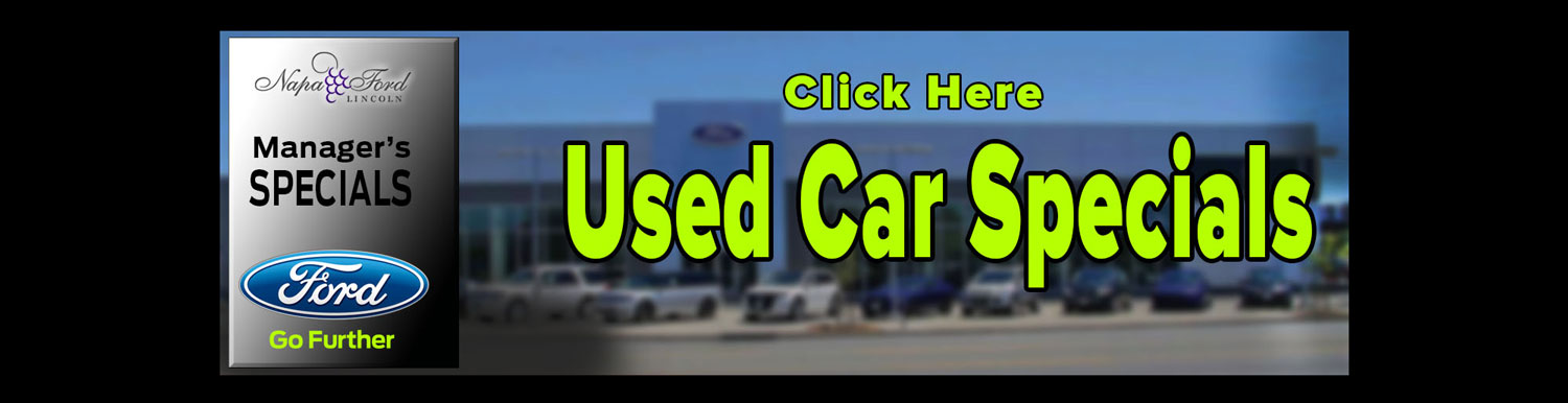 Manager Used Car Specials
